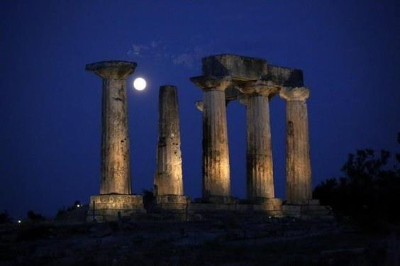 Image result for moon in ancient greek